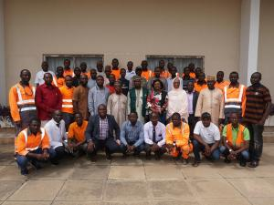 Cement workshop delegates
